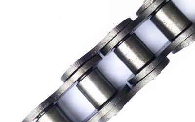 precision stainless steel 20A-1/100-1 ss304/316 transmission chain with extended pin