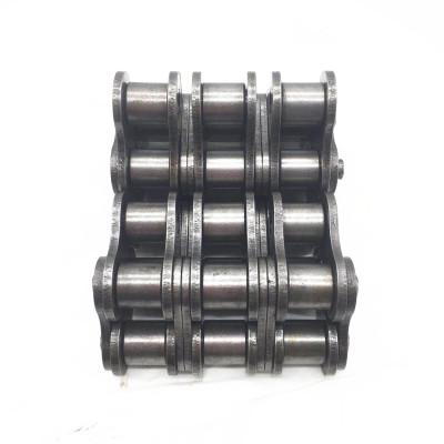 Pasador hueco de cadena de rodillo transportador de acero inoxidable industrial simplex de transmisión de precisión 08A-1 / 40-1 de paso corto