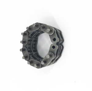 Short pitch precision 03C transmission roller chain for 03 sprocket