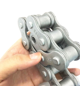 10A-1/50-1 Dacromet-plated  Roller Chain High Quality China Supplier  Flexible Conveyor Chain