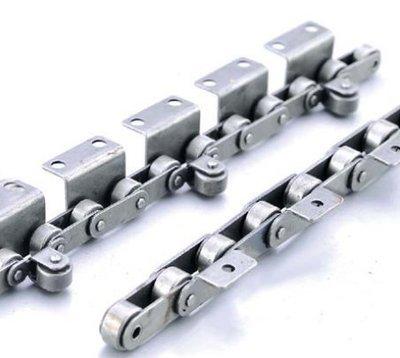 China cadena de rodillos industriales de alta calidad cadena de rodillos de alta precisión de paso doble fabricante de China