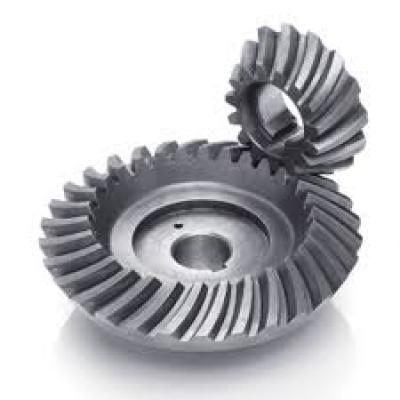 Stainless Steel Professional American Standard Bevel Gear 3 Pitch-12 Pitch Made of Cast Iron