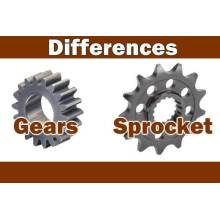 Difference Between Gears & Sprocket
