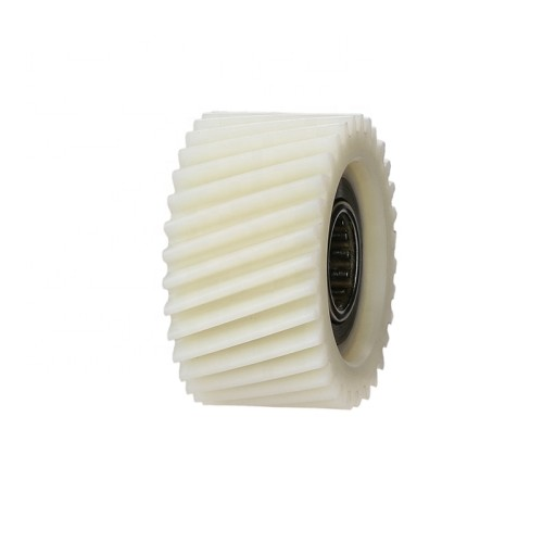 Professional manufacturer for industrial standard helical helix nylon plastic spur gears