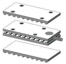 Standard Clamping Plates for belt and HTD pulleys used for transmission industries