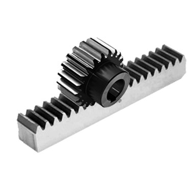 2.5 module 25x25 mm, 1000 mm, Teeth case hardened, with mounting holes(depth: 2~3mm, HRC40-45)