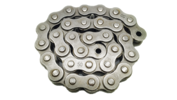 Short pitch precision 16A-1/80-1  transmission stainless steel conveyor roller chain hollow pin (A series)
