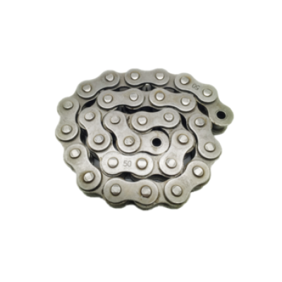 Short pitch precision 08A-1/40-1  transmission simplex industrial stainless steel conveyor roller chain hollow pin