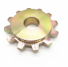 Do you know which surface treatments of the sprocket?