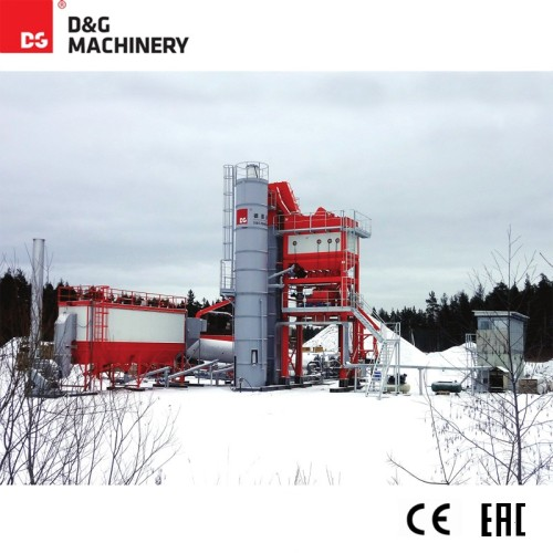 Asphalt mixing plant DG1300T160 123t/h Mixer : 1.3t