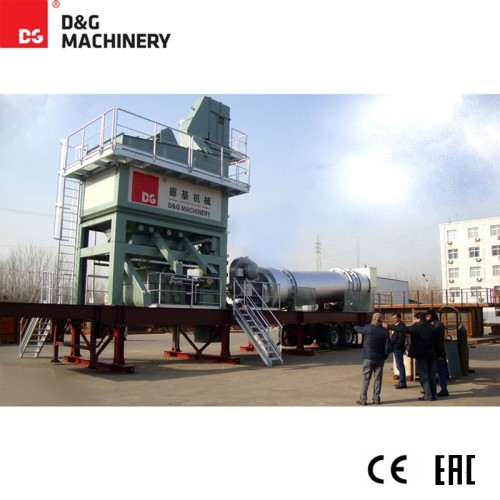 DGM series - Mobile asphalt mixing plant