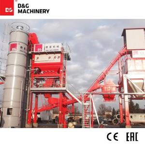 D&G Standard  Series DG1300T160 100t/h batch asphalt mixing plant