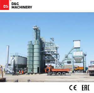 D&G Standard Series DG2000T220 180t/h asphalt batch mix plant