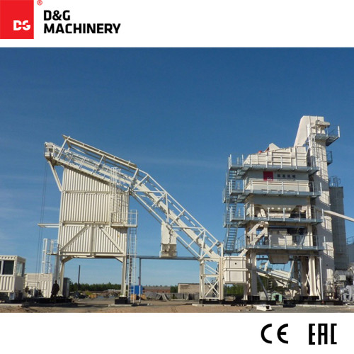 DGC Compact Series DG3000T220AC 240t/h asphalt mixing plant with container