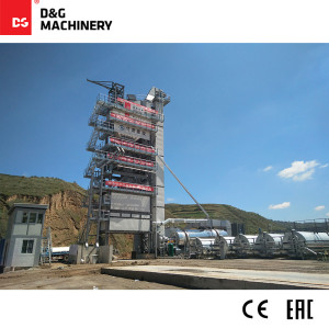 D&G Standard Series DG3000T250D 240t/h batch hot mixture plant