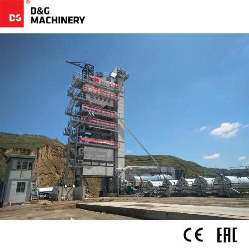 D&G Standard Series DG3000T250D 240t/h batch hot mixture plant
