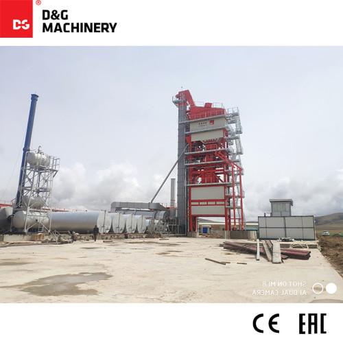 D&G Standard Series DG5000 400t/h large size asphalt plant