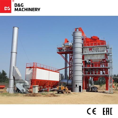 Monoblock recycled asphalt mixing plant DGR3000T250D 240t/h
