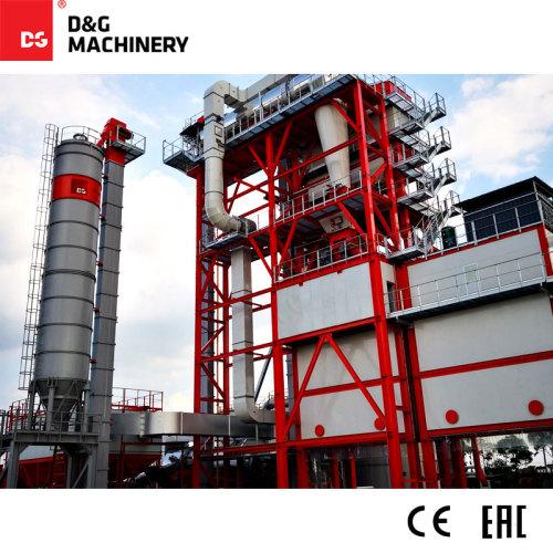 Monoblock Recycled asphalt plant DGR2000T220D 180t/h