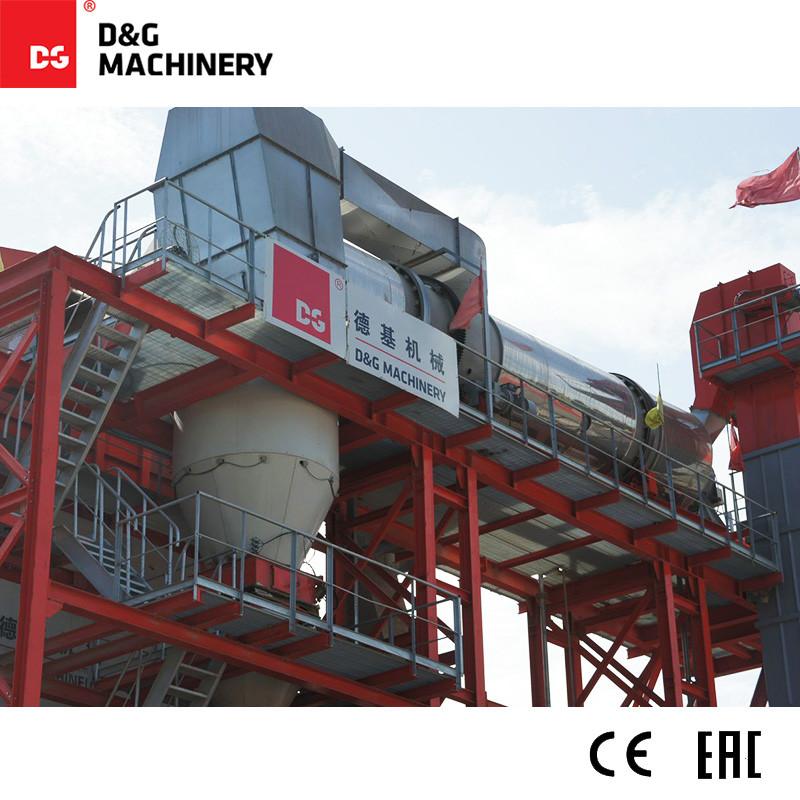 مصنع أسفلت معاد تدويره أحادي الكتلة DGR2000T220D 180 طن / ساعة