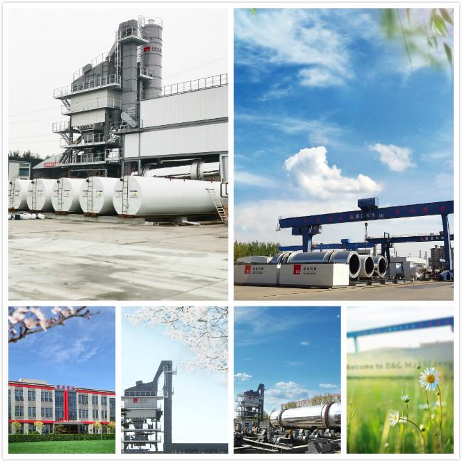 مصنع الأسفلت التابع لشركة D&G Machinery يوفر طاقة عالية