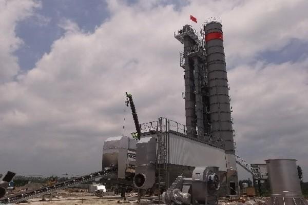 مصنع خلط الأسفلت Xinyang DGX4000D