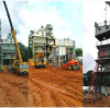 يتم تركيب مصنع خلط الأسفلت DG Machinery في ليبيريا