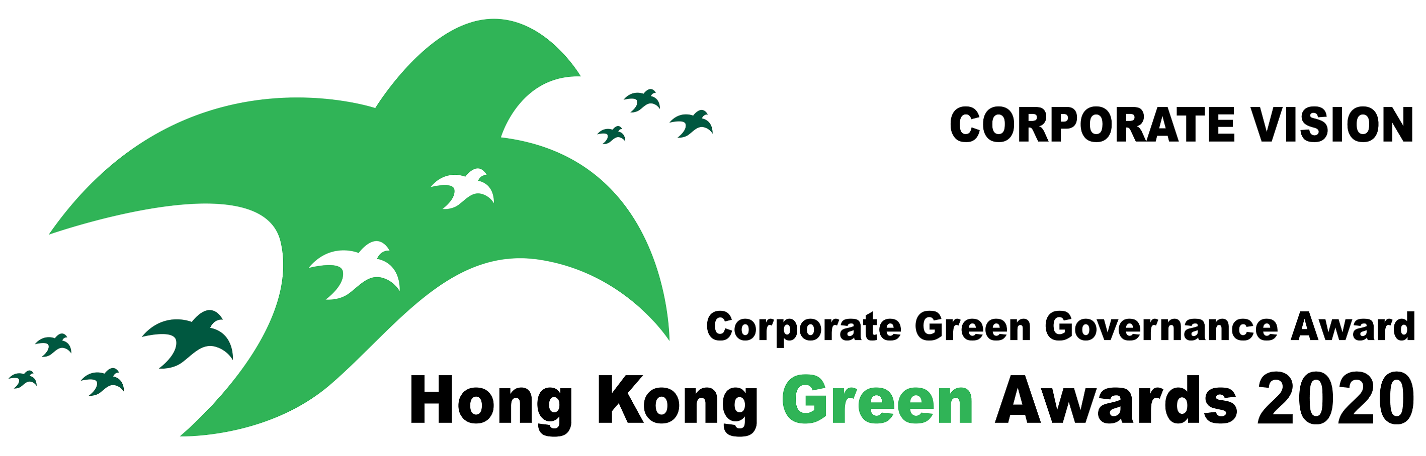 Logo for HKGA 2020 – Corporate Green Governance Award (CGGA)