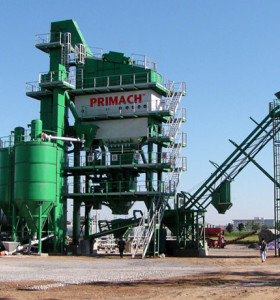 PM125 Burner: Diesel 124T / H Mixer: 1,55T