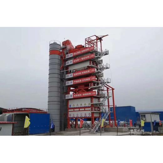 400T/H asphalt plant erected in CEEC job site