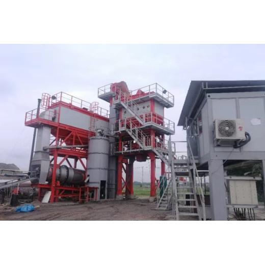 PMA105 asphalt plant is running in Bangladesh