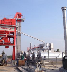 PM125 Burner: Heavy Oil 124T / H Mixer: 1.55T