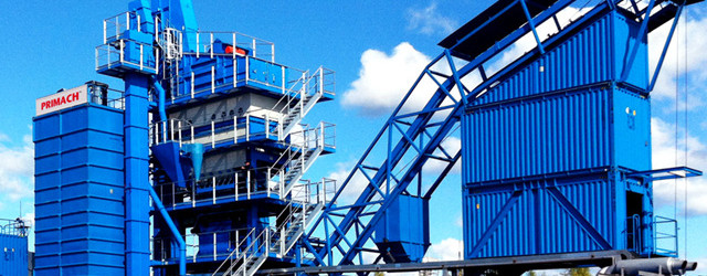 Development and production of asphalt mixing plant