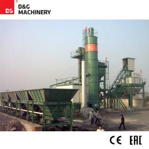 Multiple models asphalt batch mix plant in bituminous pavement