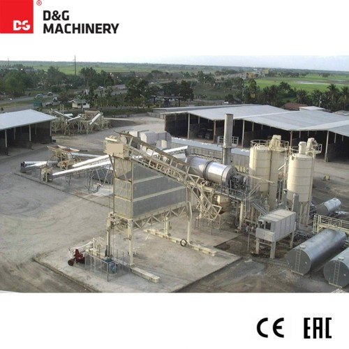 D&G Asphalt Mixing Plant Series recycling asphalt plant used in pavement