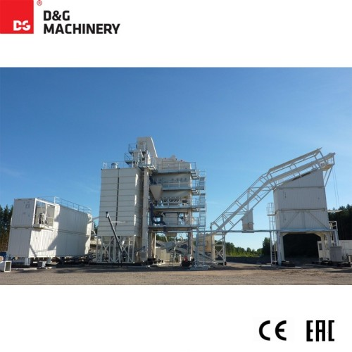 D&G Compact Series with used asphalt mixing plant