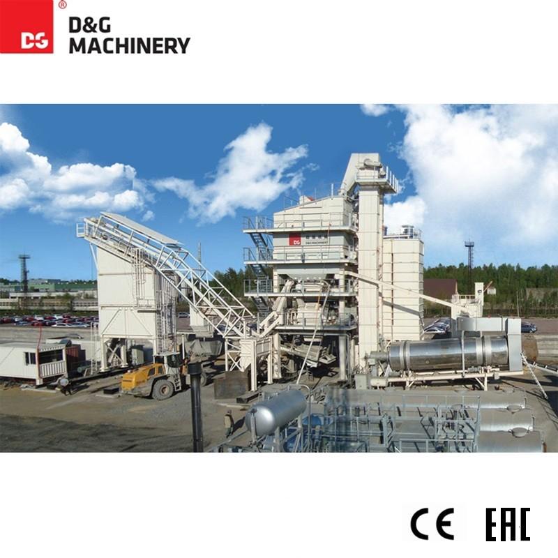 TTM asphalt manufacturing plant