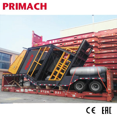PM60M-160M MOV  Mobile Asphalt Batch Mixing Plant