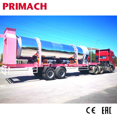 PM60MS-100MS MOVSMA Mobile Smart Asphalt Mixing Plant