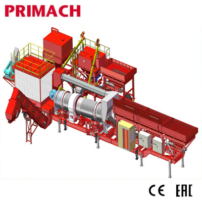 PM60CS-80CS  CONTISMA Stationary Drum Mix Asphalt Plant with Smart design