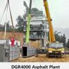 Pemasangan Pabrik Pencampur Aspal DGR4000 di Kota Yibin, Provinsi Sichuan