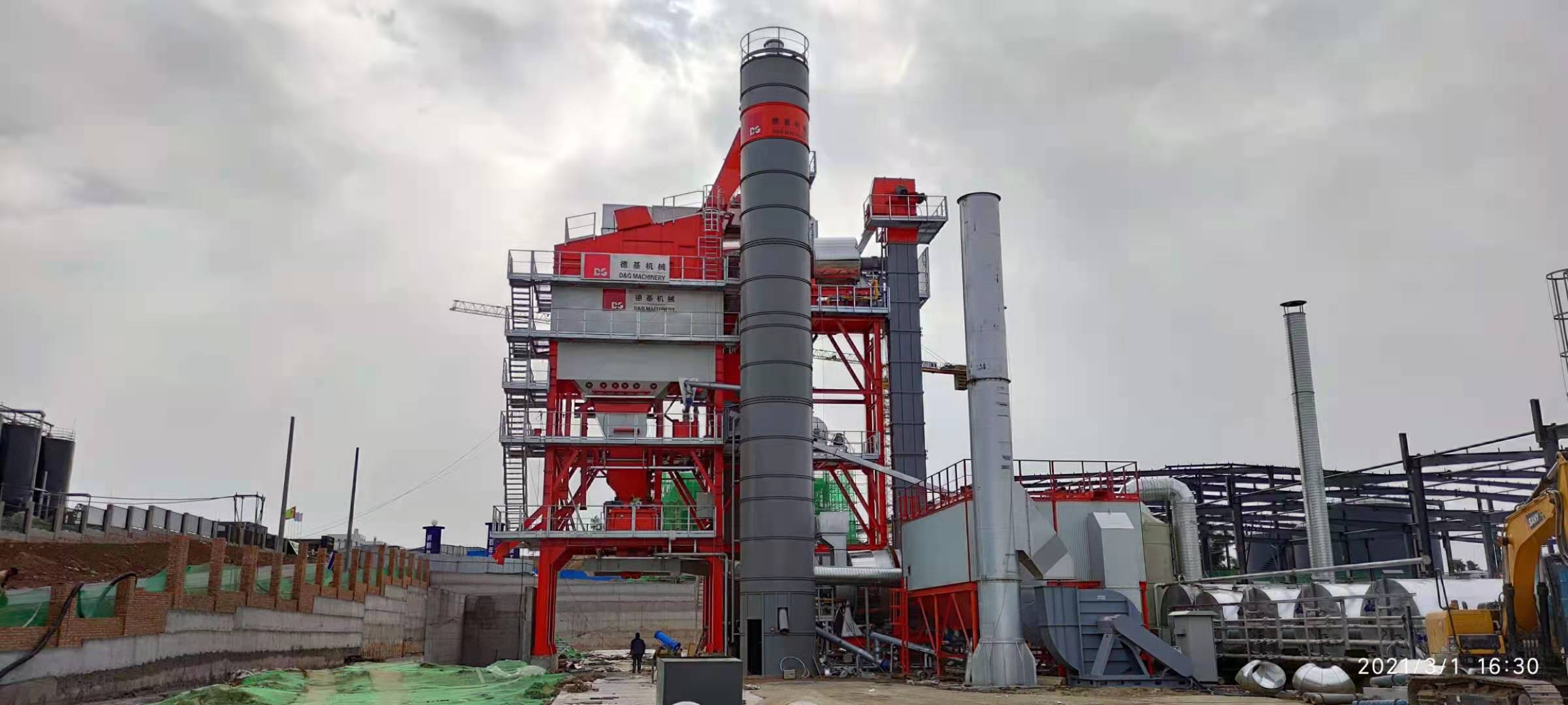 How to Choose the Site for Asphalt Mixing Plant?