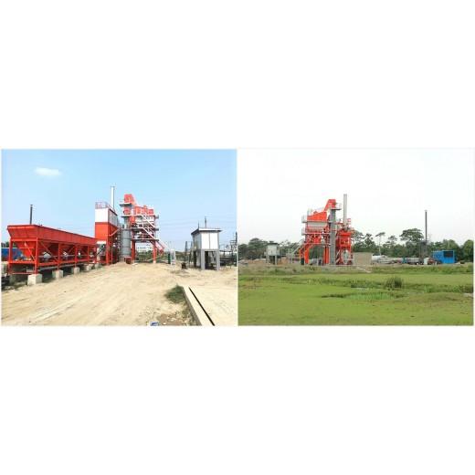 Dua pabrik aspal PM105 telah didirikan di Bengal untuk layanan yang lebih baik