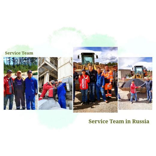 Layanan Mesin D&G di Rusia
