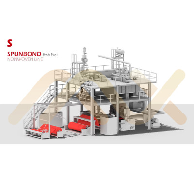 for Shopping Bag and Packaging AZX-S PP Spunbonded Nonwoven Fabric Making Machine