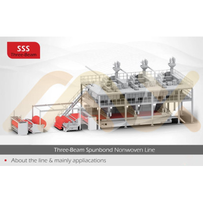 for Cleaning wipes AZX-SSS PP Spunbonded Nonwoven Fabric Making Machine