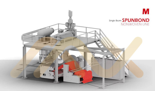 High Capacity Good Quality For Oil Absorption Nonwovens  AZX-M Meltblown Nonwoven Fabric Making Machine