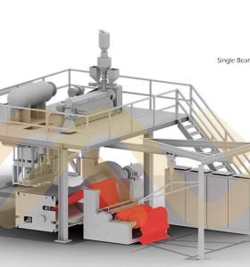 Meltblown оборудование для производства нетканых тканей для маслопоглощающих нетканых материалов