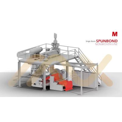 Meltblown оборудование для производства нетканых тканей для абсорбирующих изделий