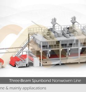 SSS PP Спанбонд нетканая ткань изготовление оборудования для новорожденных и взрослых подгузников